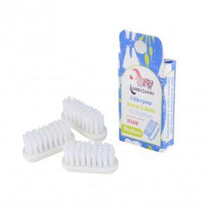 Recharge 3 têtes de brosse à dents  médium