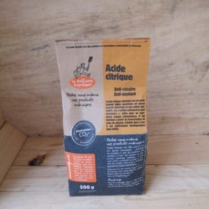 Acide citrique en sachet 1kg