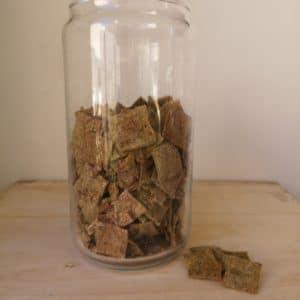 Crackers à l'ail des ours