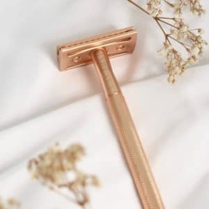 Rasoir de sûreté Bareaya rose doré