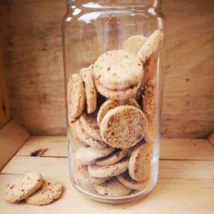 Biscuits caramel sel de Guérande