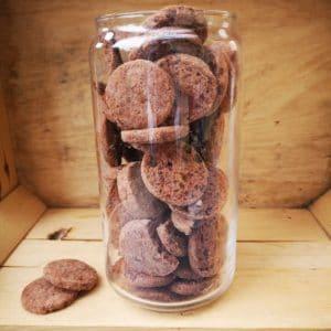 Biscuits cacao pépites de chocolat