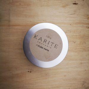 Beurre de karaté brut