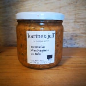 Moussaka d'aubergines au tofu – 360g