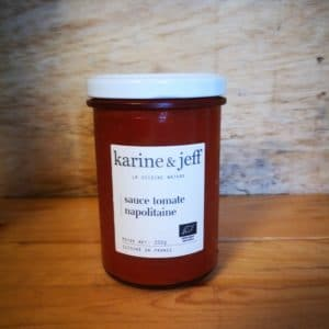 Sauce tomate napolitaine – 200g
