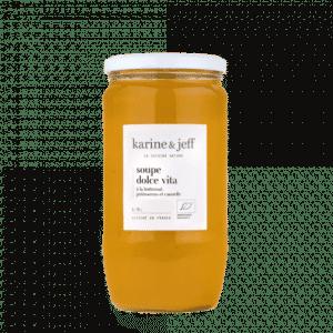 Soupe Dolce vita à la butternut, potimarron et cannelle (0,78l)